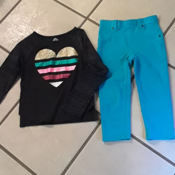 Garanimals Other - Cute girls top and jeggings